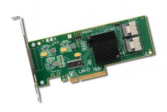 9211-8i LSI SAS HBA 8-port int. 6Gb/s, PCI-E Host Bus Adapter with Integrated RAID, Single 9211 port int Gb PCI RAID