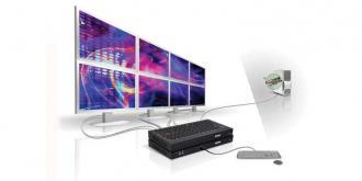 XTO2EX-F2408F Matrox Extio F2408 expander 4xDP/ DVI/ RGB, 5xUSB for F2408F XTO EX 2408 DP DVI RGB USB xUSB 2408F