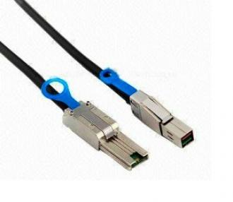 Cable Mini SAS HD SFF-8644 (mSAS HD) -- SFF-8088 (mSAS), L=2M SFF 8644 (m 8088 2M