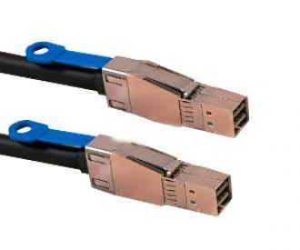 Cable Mini SAS HD SFF-8644 (mSAS HD) -- HD), L=1M SFF 8644 (m 1M