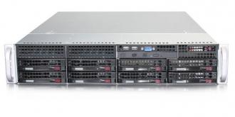 SYS-5028D-73RF Сервер SuperMicro SuperServer SYS-5028D-73RF, 2U, 2x PSU, 1 x INTEL LGA 1150, up to 32GB DDR3 RAM, 8xSAS/SATA hot-swap drive bays, 8 ports SAS 6Gb/s LSI 2308 (RAID levels: 0,1,10), GbE LAN, integrated IP-KVM with dedicated Video, 1xPCI-E (x8 in x16), (x8), (x4 x8), Black SYS 5028 73 RF Super Micro Server PSU 1150 32 GB DDR RAM SATA hot swap bays Gb levels 10 LAN IP KVM Video PCI (x 16 xPCI 1xPCI x16 x8