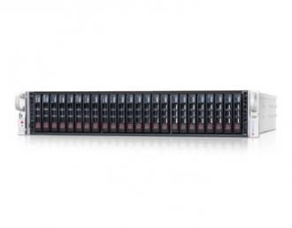 SYS-2027R-E1R24 SuperServer SYS-2027R-E1R24, 2x INTEL LGA 2011, up to 512GB DDR3 RAM, 24x hot-swap drive bays, 4 ports SATA 3Gb/s Intel C602 (RAID levels: 0,1,5,10), 2 6Gb/s 0,1,10),2xGbit, IP-KVM w/dedicated LAN, video, 3xPCI-E (x16), (x8), no DVD, FDD, Black SYS 2027 24 Super Server 2011 512 GB DDR RAM hot swap bays Gb 602 levels 10 ,2 Gbit IP KVM dedicated LAN video PCI (x 16 DVD FDD 6Gb xGbit ,2xGbit xPCI 3xPCI (x16 (x8