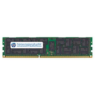 593911-B21 HP 4GB (1x4GB) Single Rank x4 PC3-10600 (DDR3-1333) Registered CAS-9 Memory Kit 593911 21 GB (1 PC 10600 (DDR 1333 CAS Kit (DDR3