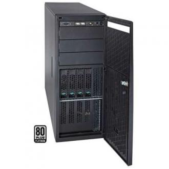 P4308SC2MHGC Сервер INTEL P4300SC Tower (optional 19' 4U), 2xPSU, Intel C602, 2xLGA1356, up to 512GB/128GB (16 slots) DDR3 1600MHz ECC Registered/Unbuffered, 8x3.5' hot-swap drive bays, 2 ports SATA 3Gb/s C602 (RAID levels: 0,1,5,10), 6Gb/s 0,1,10), 2x1GbE, Video,1xPCI-E (x16), 5xPCI-E (x8), Black 4308 SC MHGC 4300 19 PSU 602 LGA 1356 512 GB 128 slots DDR 1600 MHz Registered Unbuffered hot swap bays Gb levels 10 Video PCI (x 16 3Gb 6Gb x1 GbE 2x 1GbE xPCI 1xPCI (x16 5xPCI (x8