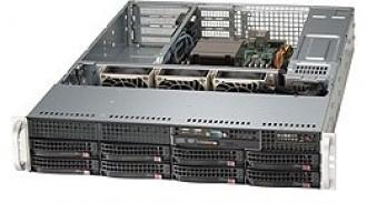 SYS-5027R-TF SuperServer SYS-5027R-TF, 1 x INTEL LGA 2011, up to 256GB DDR3 RAM, 8x hot-swap drive bays, 4 ports SATA 3Gb/s Intel C602 (RAID levels: 0,1,5,10), 2 6Gb/s 0,1,10),2xGbit, IP-KVM w/dedicated LAN, video, 3xPCI-E (x16), (x8), no DVD, FDD, Black SYS 5027 TF Super Server 2011 256 GB DDR RAM hot swap bays Gb 602 levels 10 ,2 Gbit IP KVM dedicated LAN video PCI (x 16 DVD FDD 6Gb xGbit ,2xGbit xPCI 3xPCI (x16 (x8