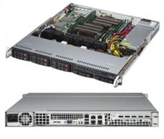 SYS-1028R-M Supermicro Superserver 19' 1U, 1xPSU, Intel C612, 2xLGA2011-3 (up to 105W), up 512GB (8 slots) DDR4 2133MHz ECC Registered, 8x2.5' SAS/SATA hot-swap drive bays, 10 ports SATA 6Gb/s C612 (RAID levels: 0,1,5,10), 2x1GbE (Intel i210, RJ45), IP-KVM, Video, 1xPCI-E (x8), Black SYS 1028 19 PSU 612 LGA 2011 105 512 GB slots DDR 2133 MHz Registered SAS hot swap bays Gb levels 210 RJ 45 IP KVM Video PCI (x 6Gb x1 GbE 2x 1GbE i210 RJ45 xPCI 1xPCI (x8