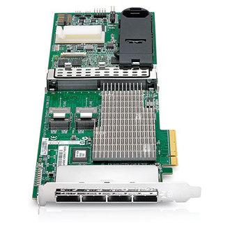 487204-B21 HP Smart Array P812/1G FBWC 2-ports Int/4-ports Ext PCIe x8 SAS Controller 487204 21 812 ports Int Controller