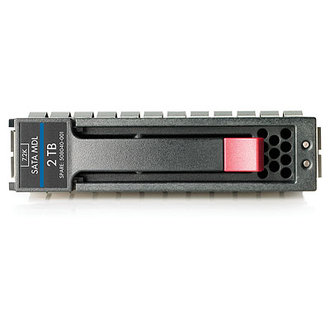 507632-B21 HP 2TB 3G SATA 7.2K rpm LFF (3.5-inch) Midline Hard Drive 507632 21 TB (3 inch