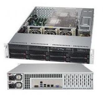 6029P-TR Supermicro SuperServer 19' 2U, 2xPSU, Intel C621, 2x LGA3647, up to 2TB (16 slots) DDR4 2666MHz ECC Registered, 8x3.5' hot-swap drive bays, 8 ports SATA 6Gb/s C621 (RAID levels: 0,1,5,10), 2 SuperDOM, 2x1GbE (Intel X722, RJ45), IP-KVM, Video, 4x PCI-E(x16) , PCI-E (x8), Black 6029 TR Super Server 19 PSU 621 LGA 3647 TB slots DDR 2666 MHz Registered hot swap bays Gb levels 10 DOM 722 RJ 45 IP KVM Video PCI 16 (x 6Gb SuperDOM x1 GbE 1GbE X722 RJ45 x16 (x8