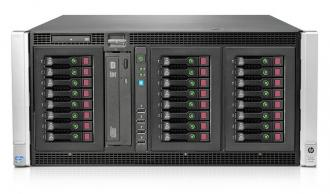 ML350p Gen8 Сервер Tower(5U) HP Proliant Gen8, 2 x INTEL XEON E5-2600, up to 768GB DDR3 RAM, Smart Array P420i,24(16)x SFF (18x LFF) HDD, Slim DVD-RW, 4x 100/1000Mbit LAN, 460W hot plug ML 350 Gen Tower 2600 768 GB DDR RAM 420 24 16 (18 LFF HDD DVD RW 100 1000 Mbit LAN 460 P420 420i 1000Mbit