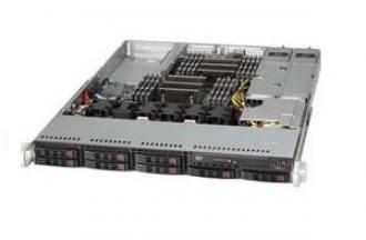 6017R-VMWT Supermicro SuperServer SYS-6017R-VMWT, 2 x INTEL LGA 2011 (up to 95W), 2x PSU, up 512GB DDR3 ECC RAM, 4x3.5' SAS/SATA hot-swap drive bays, 8 ports SAS 6Gb/s LSI 2208 RAID (RAID levels: 0,1,5,6,10,50,60), 2x1Gbit (i350), 2x10GbE (SFP+), IP-KVM w/dedicated LAN, video, 2xPCI-E (x16), 1xPCI-E (x8), no DVD, FDD, Black 6017 VMWT Super Server SYS 95 PSU 512 GB DDR RAM SATA hot swap bays Gb levels 10 50 60 Gbit (i 350 (SFP ), IP KVM dedicated LAN video PCI (x 16 DVD FDD x1 1Gbit (i350 x10 GbE 10GbE xPCI 2xPCI (x16 1xPCI (x8