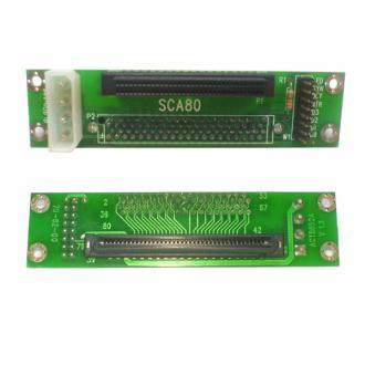 Переходник int. SCSI SCA-2 80F--HD68F Single int SCA 80 -HD 68 80F -HD68 68F