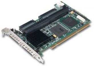320-2X SCSI RAID LSI MegaRAID 128MB U320 320 Mega 128 MB 2X