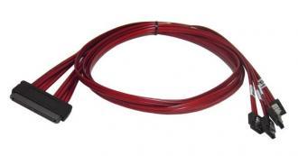 7041 Cable SAS SFF-8484 - 4 x SATA (аналог ACK-INT-SATA-FANOUT-1M) SFF 8484 ACK INT FANOUT 1M