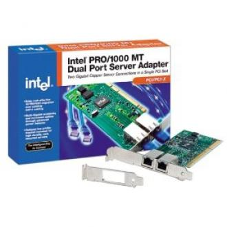 PWLA8492MT Intel Gigabit PRO/1000 MT Dual Port Server Adapter PWLA 8492 PRO 1000 PWLA8492 8492MT