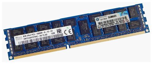 500205-071 RDIMM 8GB PC3-10600R Hynix HMT31GR7BFR4C-H9 / HP 501536-001 500662-B21 500205 071 GB PC 10600 HMT 31 GR BFR 501536 001 500662 21 B21