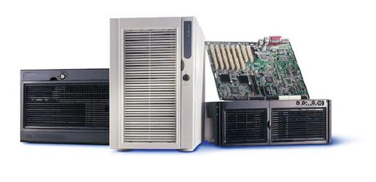 Серверное и сетевое оборудование