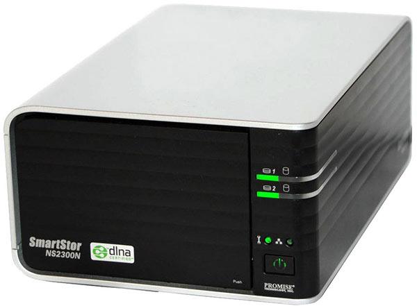 Дизайн Promise SmartStor NS2300N